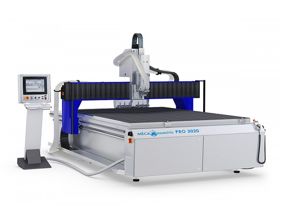 CNC Router Full Table MecaPro